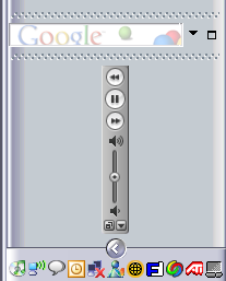 Stupid iTunes Toolbar Trick